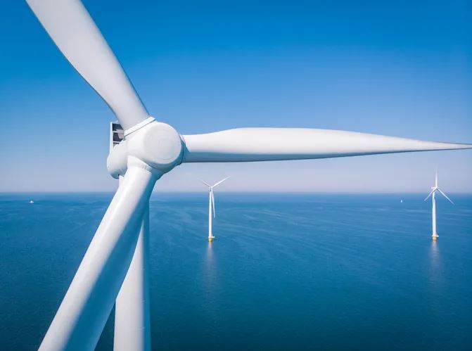 Biden administration approves first large offshore wind power farm in the US
