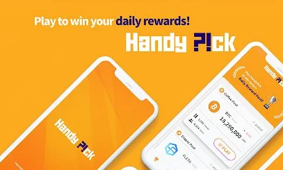 How to Earn at Least 110 Handy Token $7.21 from HandyPick Game