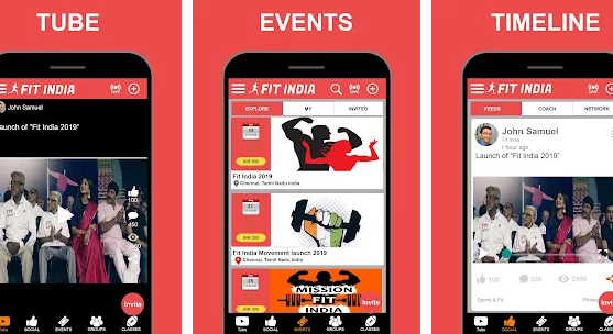 Fit India Mobile App