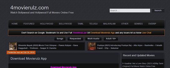 4movierulz.com Movies Download App